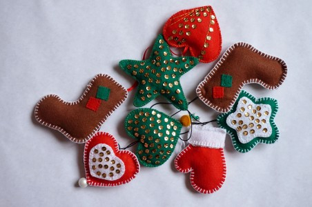 Handmade Christmas decoractions